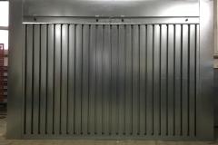 Ściana lakiernicza z filtrem mechanicznym